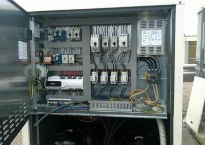 Quadro elettrico - Posadinu - Vendita e assistenza condizionatori - Pompe di Calore - ricambi Aermec in Sardegna - Sassari Olbia Tempio - Nuoro Oristano Cagliari.